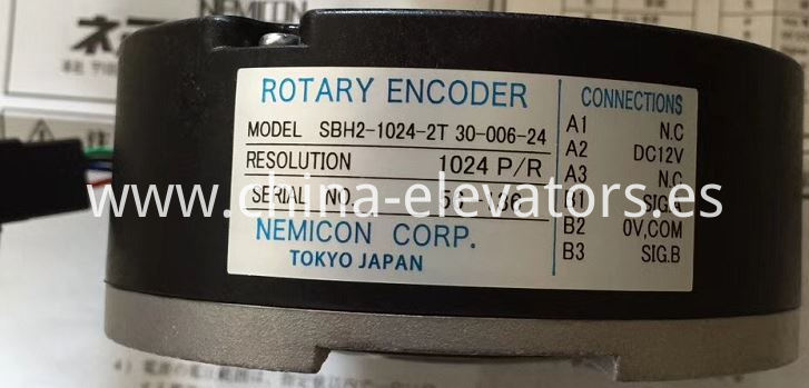 NEMICON ROTARY ENCODER for Fujitec Elevator Asynchronous Machines