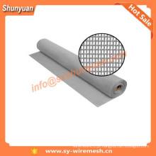 48 In. * 100 pés. Grey Pet tela / tela de alumínio inseto tela / malha de arame de aço inoxidável