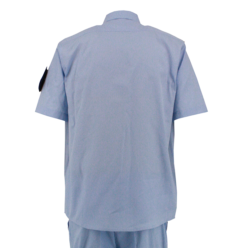Summer Short Uniforms with Embroidery