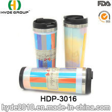 Stainless Steel Pretty Design Mug Coffee Mug Travel Mug (HDP-3016)