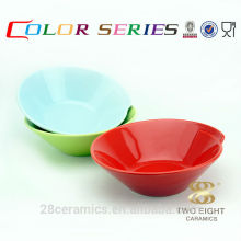 Wholesale eco friendly chinese tableware, hand ceramic serving bowls