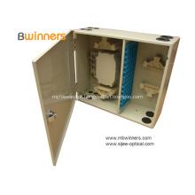 Caixa de distribuição IP54 fixada na parede da fibra óptica