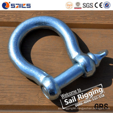 Large Bow Shackle Metal Forged Anchor Shackle