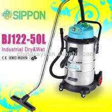 Сухие и мокрые промышленные пылесосы большой мощности BJ122-50L