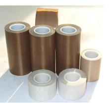 Cinta de PTFE de 0,13 mm Cinta de teflón Cinta adhesiva de fibra de vidrio para sellado en caliente