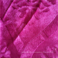 Tecido de vestuário africano de veludo da moda em malha 100% poliéster