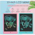 Lcd Writing Tablet 10 Inch Drawing Pad Colorful Screen Doodle And Scribbler Boards For Kids