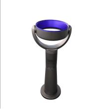 Ventilador de pie de control remoto por infrarrojos de 5 metros Ventilador de pie barato Último ventilador sin cuchilla alto