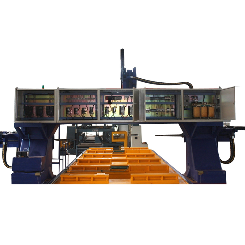 خط الحفر Bd2010 Gantry Moveable CNC Beam Line
