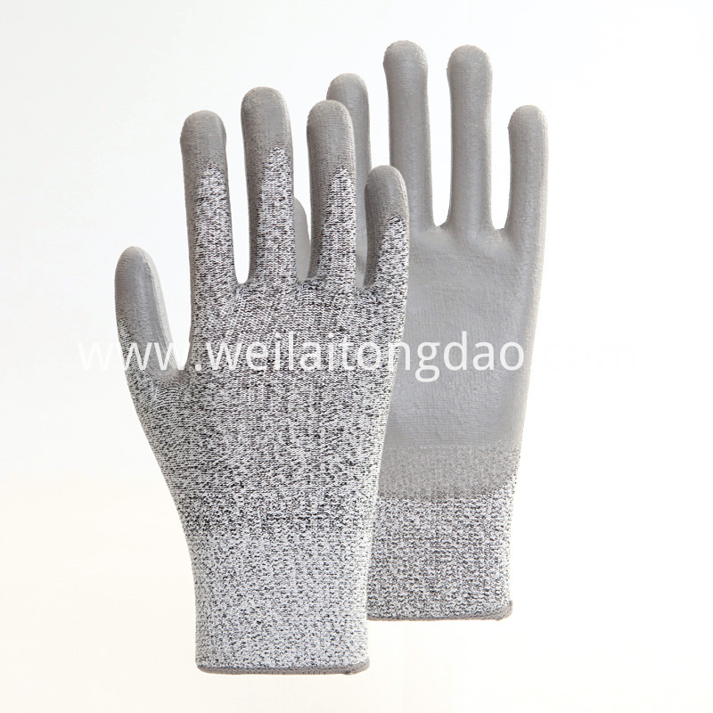 Grey PU Palm Coating