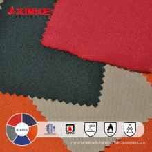 flame retardant woven aramid fabric for industrial workwear