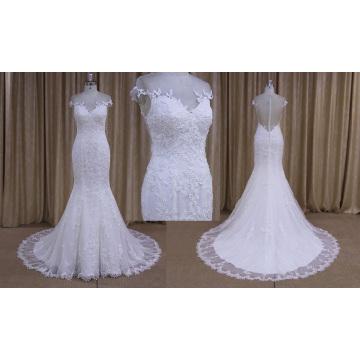Vestido de novia de la novia entrega más rápida