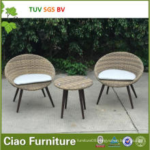 Unique Garden Furniture Synthetic Outdoor Rattan Wicker Table and Chair