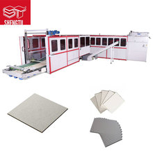 Automatic board cutting machine full line