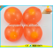 Hot Selling High Quality Single Yolk Red Egg Splat Ball Toy