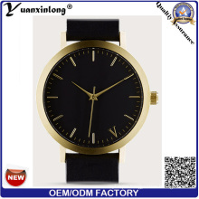 Yxl-416 Promotional New Design Watches Gold Plated Ladies Dress Wristwatch Vogue Fashion Lady Wrist Watch Mens Leather Steel Watch