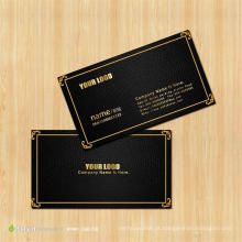 Cartão de nome UV do negócio do ponto privado feito sob encomenda do logotipo do projeto