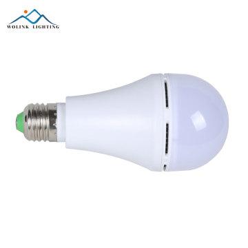 Горячие продажи теплый белый E27 SMD2835 пластиковые перезаряжаемые аварийные 5 Вт 7 Вт 9 Вт 12 Вт светодиодные лампы
