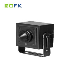H.265 Surveillance Systems 4.0MP POE IP Mini Network Pinhole Camera For Bank ATM