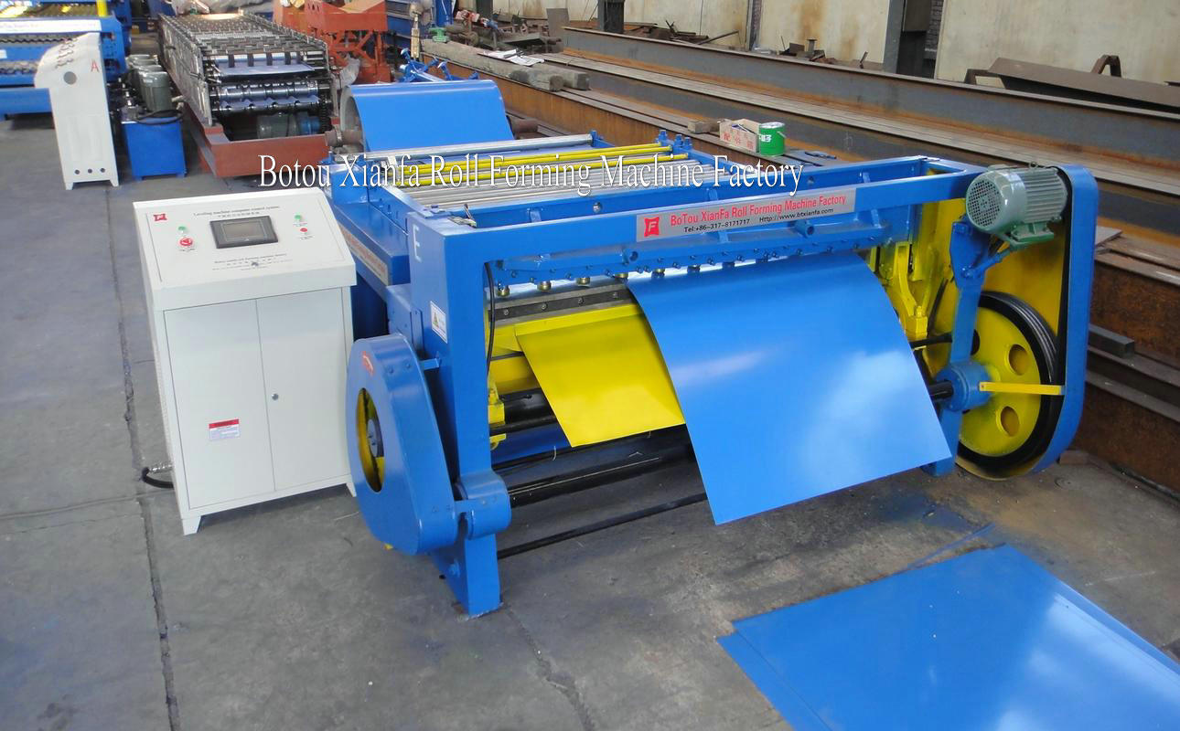 Electric Flatting-Cutting Machine