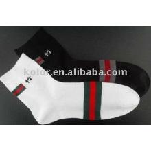 Homens meias de bambu meias de algodão / homem