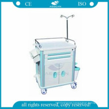 AG-ET015B1 nursing used abs emergency medicine hospital clinical treatment carts