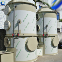 Dust efficient treatment equipment