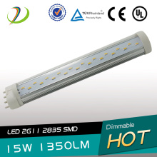 180 graus UL CE listado 22W LED 2G11 Tube light