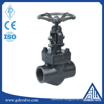 forged A105 thread steam globe valve