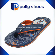 Sandálias de cinta EVA para homem Cinzento Vermelho Flip Flop