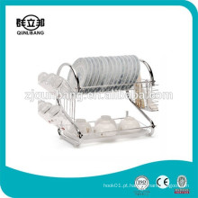 38cm Utensílios de cozinha de metal Rack Wire Dish Dryer