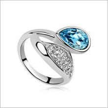 VAGULA 2015 personalidad moda circón anillo plata