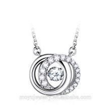 Bijoux en argent sterling 925 en gros, collier en argent 2015, bijoux en argent sterling 925