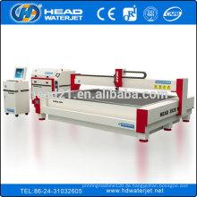 Hoch effiziente Wasserstrahl-Metallschneiden Edelstahl Schneidemaschine