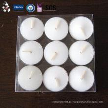 Velas de flutuação dadas forma redondas únicas da cor quente do creme do preço da venda