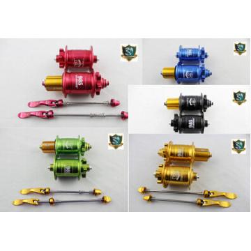 Moyeu de concentrateur 120 dents mtb 24 trous Mountain MTB Vélo Vélo Pièces de frein à disques Sealed Bearing Hubs Skewers