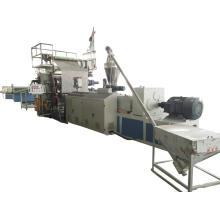 Plancher de bois composite en plastique de décoration faisant la machine