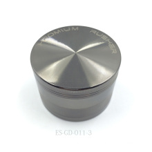 Metal cromado moinho de ervas metálicas para triturador de charutos Hooka (ES-GD-011-L)