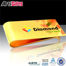 High quality promotional stainless steel blank money clip