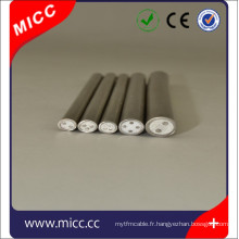 câble en cuivre minéral isolé