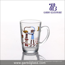 Christmas Promotional Snowman Glass Mug