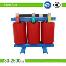Transformador de tipo seco de 3 fases de la serie Scb