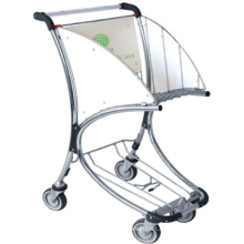 Hot sale metal luggage cart, wheeled cart for luggage, luggage cart with wheels