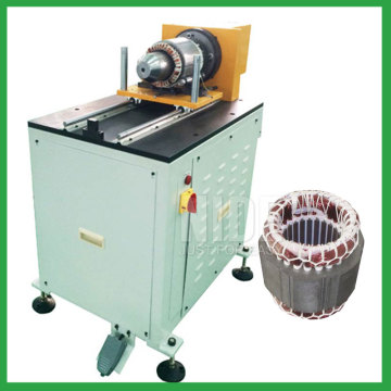 Automatic stator slot wedge expanding machine