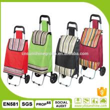 Comercial bolsa de carro con bolsa extraíble y desmontables ruedas plegable