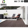 Exterior Anti-uv piscina Decking del Wpc