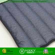 Tissu de veste d'hiver de preuve de remplissage direct de pongee de polyester de deux couches vers le bas