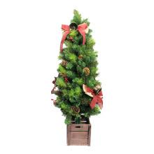 Árbol de mesa decorado artificial de Navidad superventas 2018