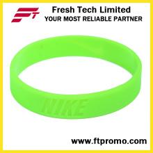 Atacado OEM Silicone Wristband com Logo
