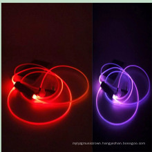 Cool Design 7 Colors LED Light Luminous Earphones for iPhone and All Smart Phone (K-688)
